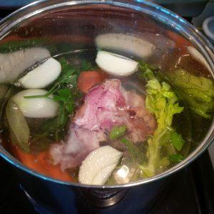Paula's split pean soup 1